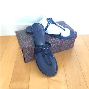 NWT Tory Burch Mini Miller Flat Thong Sandal